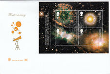 (15073) GB Stuart FDC Astronomy Star Glenrothes 24 September 2002