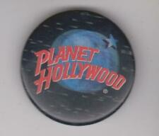 Original Classic Vintage Planet Hollywood Lenticular Magic Holographic 3D Button