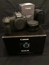Canon EOS R 30.3MP Digital Camera w/ EF to RF adapter ONLY 1,000 Shutter!