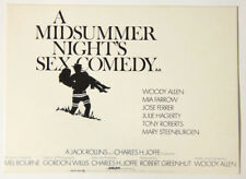 L000147 Unwritten Postcard / A midsummer Night's Sex Comedy / Woody Allen