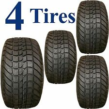 (4) 205/50-10 DOT Street Tires for EZGO Club Car Yamaha Harley ParCar Golf Carts