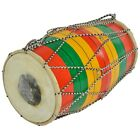 Indian Traditional Multicolour Wooden Musical Instrument Rope & Ring Drum
