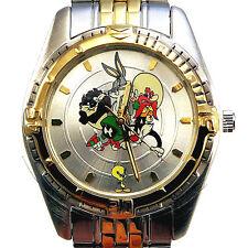 Taz Yosemite Sam Tweey Sylvester Bugs Marvin, Warner Bros NIB Fossil Watch! $79