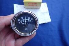 Vintage NOS 1960s Stewart Warner ammeter Gauge SW, +/-60, NOS! D357X-E8 Amp