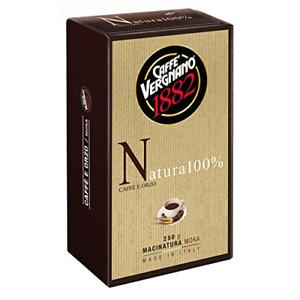 Caffè Vergnano 1882 Caffè Macinato Natura caffè e orzo 8 x 250gr.= 2 Chili