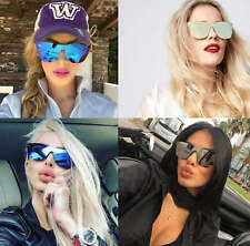 Unisex Rimless Fashion Celebrity Men Womens Mirror Color Lens Sunglasses