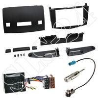 MERCEDES C-Klasse W204 Autoradio 2-DIN Radioblende ISO Adapter Antenne Einbauset