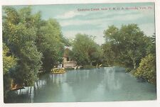 Codorus Creek, YMCA Grounds nr YORK PA Vintage Pennsylvania Postcard