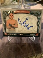 2016 Topps Museum Collection UFC Rafael Dos Anjos Archival Auto Autograph /99