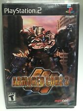 Armored Core 3 (Sony PlayStation 2, 2002) Brand New - Factory Sealed