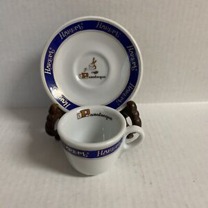 Harem Caffe PASSALACQUA Espresso Cup with Saucers Italy Porcelain