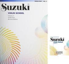 Alfred Suzuki Violin School Violin Part & CD Volume 4