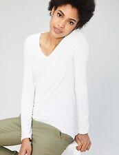 Brand - Daily Ritual Women's Jersey Long-Sleeve V-Neck T-Shirt