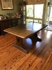 extension wooden dining table used