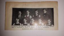 Massillon Ohio High School & West Lafayette College 1911-12 Basketball Team Pic
