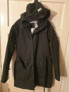 Helly Hansen Womens Waterproof Jacket Small Navy