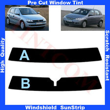 Pre Cut Window Tint Sunstrip for Opel Corsa C 5 Doors Hatchback 99-06 Any Shade