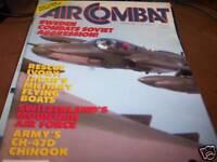 Air Combat Magazine May/June 1988 Sweden Combats Soviet
