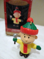 Hallmark Peanuts Charlie Brown With Bell - A Snoopy Christmas Ornament 1 of 4