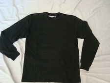 New Hood Boyz HoodBoyz Mens Black Long Sleeve Shirt 4XL