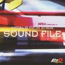 Initial d anime Mamga song Soundtrack CD AE86 JAPAN  8 D Fifth Stage SOUND FILE