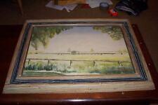 WWII Era 1942 Maui Hawaii Hawaiian Watercolor L Davis