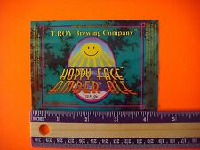 BEER LABEL: T. Roy Brewing Company ~ Hoppy Face Amber Ale ~ San Jose California