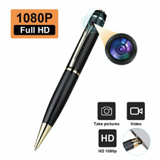 1080P HD Pocket Real Pen Camera Hidden Spy Mini Portable Body Video Recorder DVR