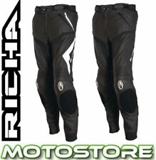 Richa Knee Leather Motorcycle Trousers