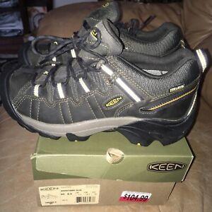 KEEN Outdoor 1012213 Targhee II Waterproof Boots Leather Road Hiking Shoes  8.5