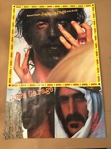 FRANK ZAPPA Joe's Garage Original Vintage Promotional Poster