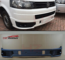 SPORTLINE LOOK FRONT BUMPER LIP SPLITTER VALANCE FOR VW TRANSPORTER T5 T5.1 2010