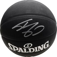 SHAQUILLE O'NEAL Autographed Lakers Black Spalding Basketball FANATICS