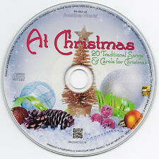 AT CHRISTMAS: A CAROL COLLECTION 🎅 20 FESTIVE SONGS & CAROLS 🎅 MUSIC CD GIFT