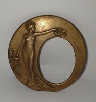 Beautiful Greek Artifact of a Woman holding a harp while lifting a Tiara
