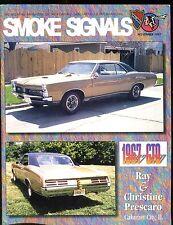 Smoke Signals Magazine November 1997 1967 GTO EX ML On Back 011617jhe