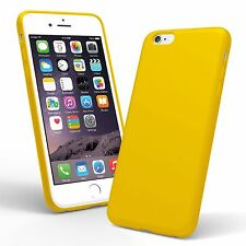 Yellow Ultra Thin Silicone TPU Gel Back Case Cover Skin For iPhone 7 Plus