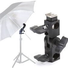 Hot Shoe Light Stand Flash Umbrella Softbox Bracket Holder Grip Fr Canon Yongnuo