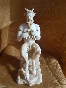 Alabaster Pan griechische Mythologie Götter Griechenland Handarbeit (A09/03)