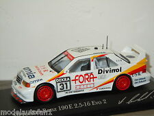 Mercedes 190E Evo2 DTM 1994 A.Bernhard van Minichamps 1:43 in Box *24564