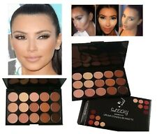 15 Colors Concealer Palette #2 Kit Face Makeup Contour Cream Neutral Beauty Set