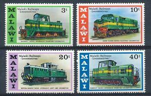 Locomotives: Full Set - Malawi 1976 - MNH - SG# 530/3