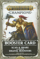 Booster Card - Warhammer Age of Sigmar Champions - Unclaimed