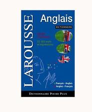 DICTIONNAIRE DE POCHE PLUS FRANÇAIS ANGLAIS LAROUSSE ISBN : 2035837375 TBE