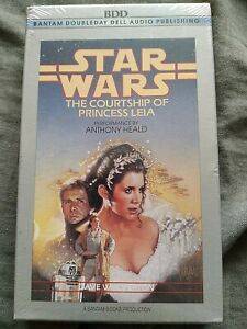 The Courtship of Princess Leia by Dave Wolverton  AUDIO CASSETTE NEW SEALED