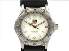 TAG HEUER Men's 669.713F Professional Automatic Quartz Watch Date White Daial T1