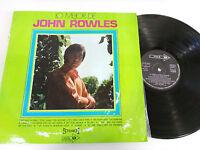 """JOHN ROWLES LO MEJOR DE LP VINILO 12"""" G+/VG MCA 1970"""