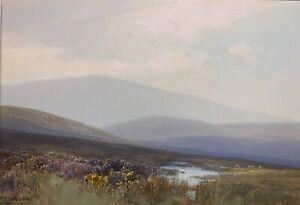FREDERICK JOHN WIDGERY 19th-20th c. British PAINTING Dunkery Beacon Exmoor UK