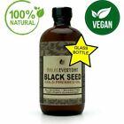Black Seed Oil - 100% Pure Organic COLD PRESSED Cumin Nigella Sativa Unrefined