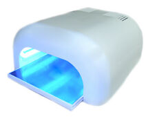 CLEARANCE STOCK 36W UV NAIL LAMP WHITE CURING GEL 4 x 9W CE APPROVED
